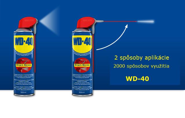 WD-40 využitie